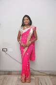 Actress Nisha Latest Photos in Pink saree-thumbnail-18
