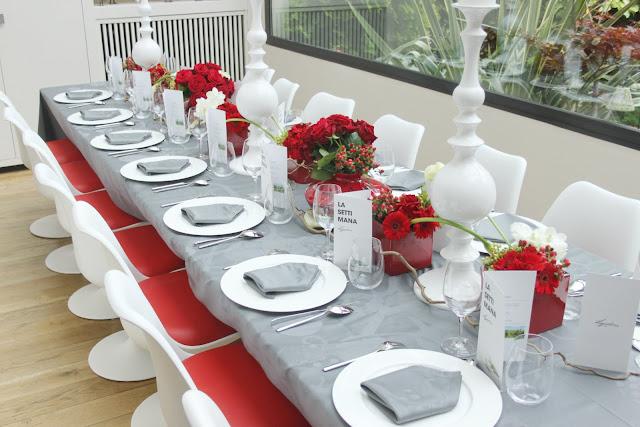 La cuisine de bernard diner organis par lagostina et la for Mettre les couverts a table