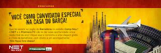 """Concurso Cultural """" Você na Casa Do Barça"""""""