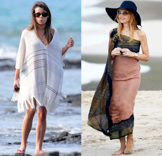 Stylish Pancho or Sarong cover up