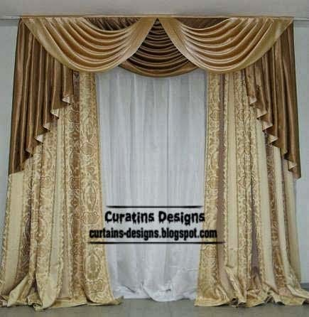 10 top luxury drapes curtain designs unique drapery styles ideas colors - Curtain photo designs ...