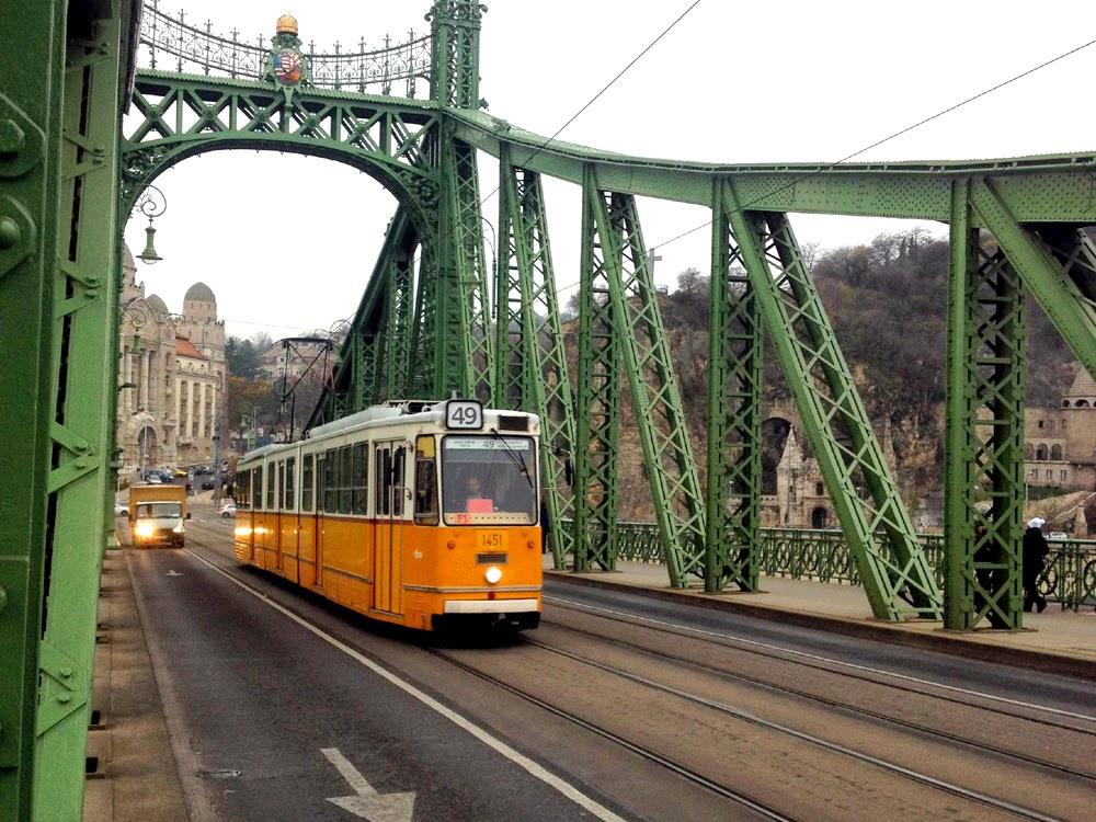 A Budapest tram, Hungary