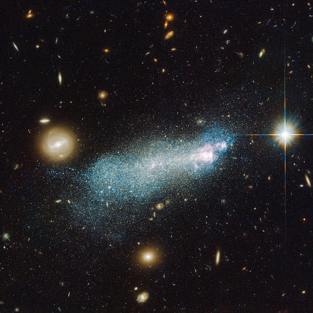 Blue Compact Dwarf Galaxy SBS 1415+437