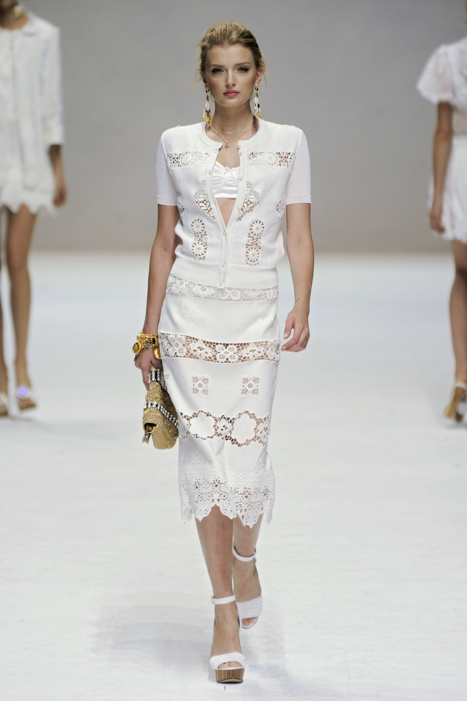 via fashioned by love | Dolce & Gabbana Spring/Summer 2011 White