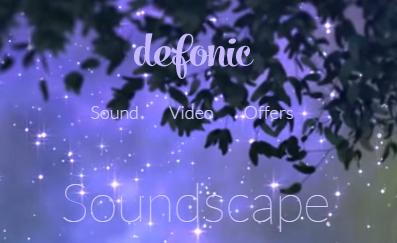 Defonic природные звуки