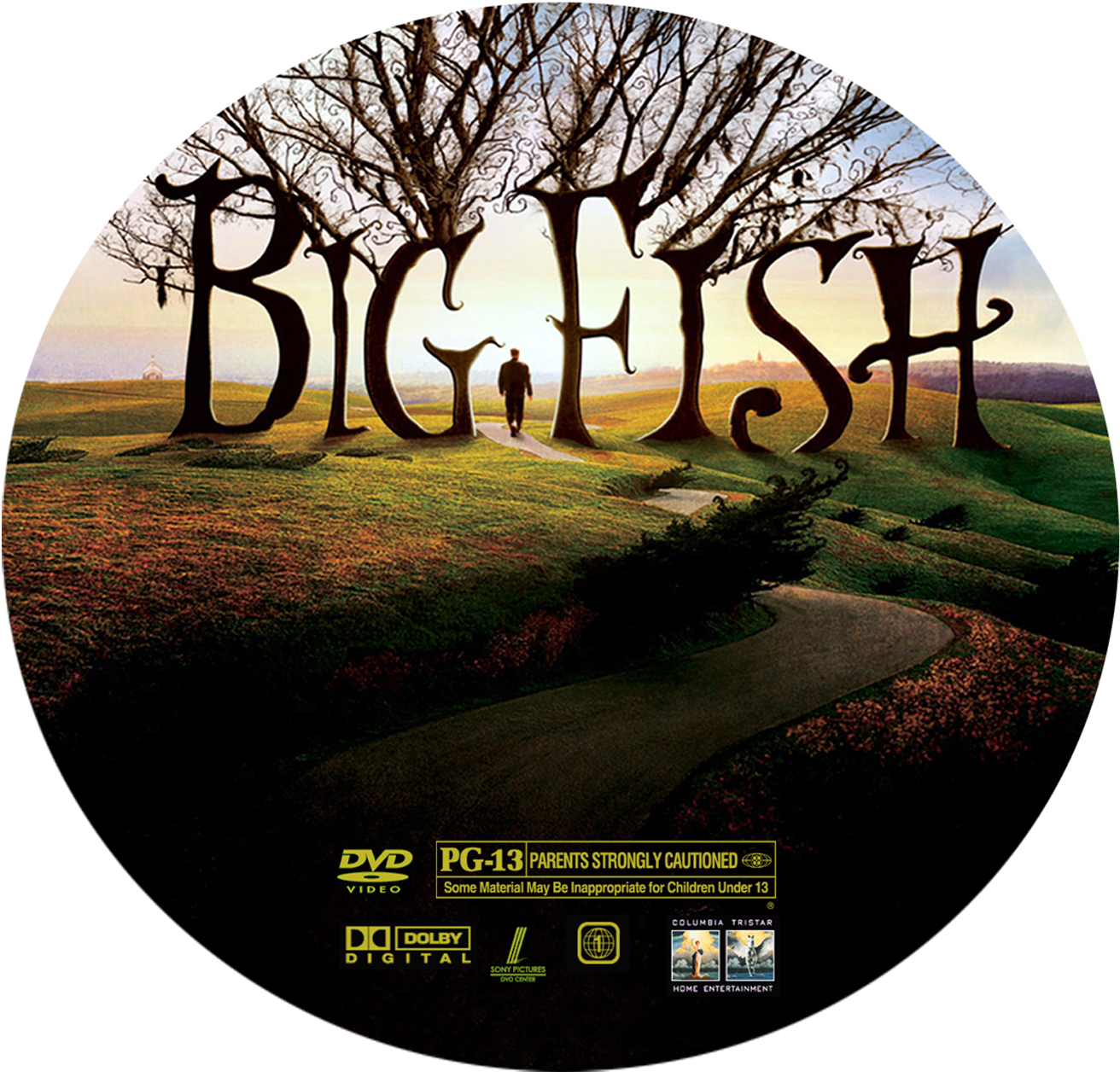 big fish 2003 movie poster and dvd cover art