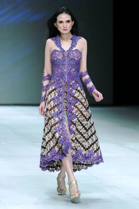 10 model batik kombinasi brokat trend 2017 terbaru si gambar - Foto moderne dressing ...