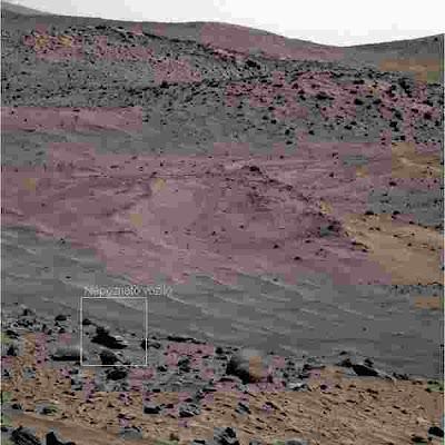 Vanzemaljsko vozilo na Marsu