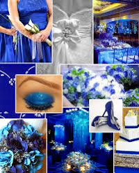 Groom theme         (Royal blue + grey)