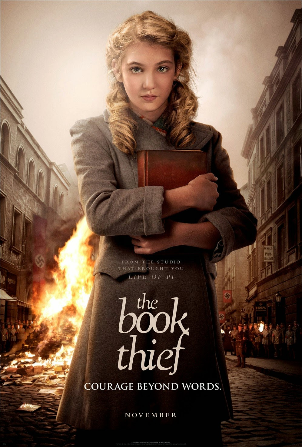 afternoon at the movies: the Book Thief