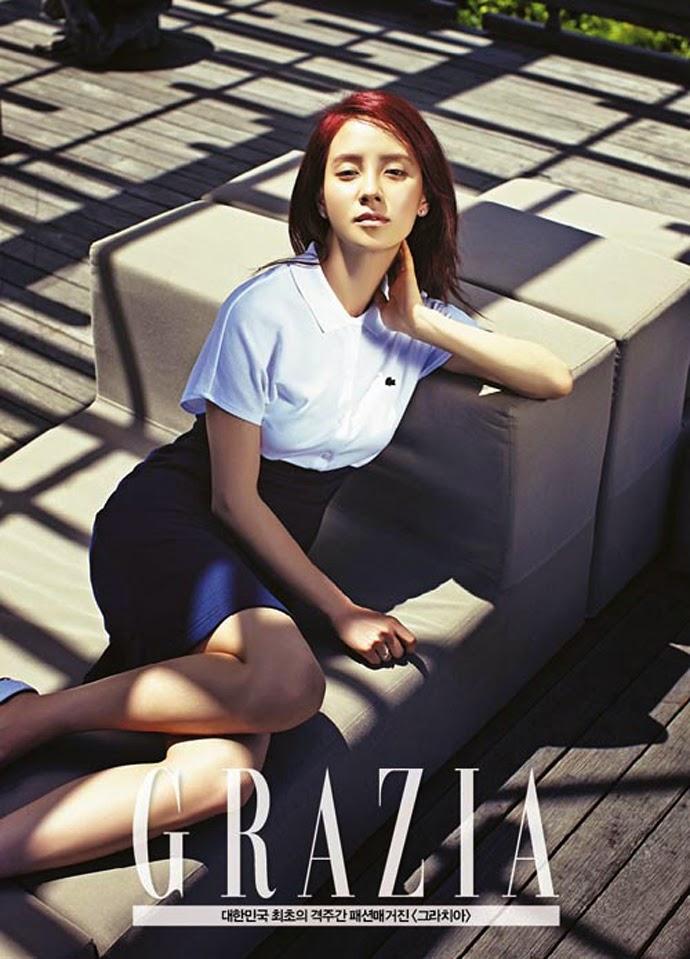 Song Ji Hyo - Grazia May 2014