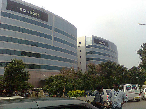 Mindspace it park raheja it park hyderabad photos for Accenture london office