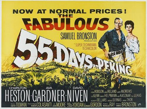 classic movie ramblings 55 days at peking 1963
