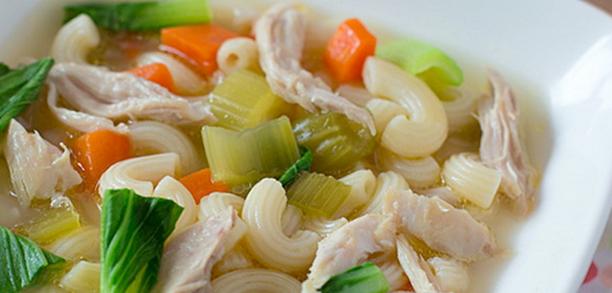 Resep Sup ayam makaroni