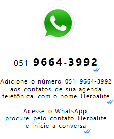 HERBALIFE NO WHATSAPP