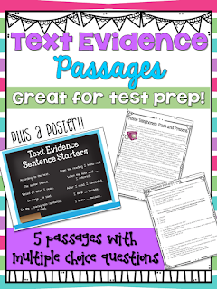 Text Evidence Passages