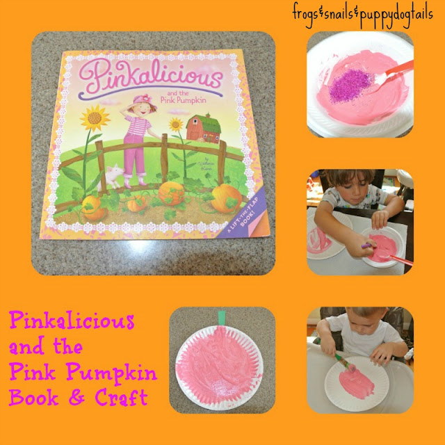 Pinkalicious and the Pink Pumpkin Book and Craft