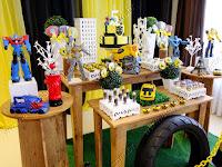 Decoração de festa infantil Transformers Porto Alegre