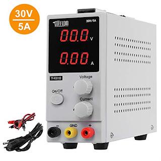 Adjustable 220V DC LED Lab Grade Regulated Variable Power Supply 0-30V and 0-5A