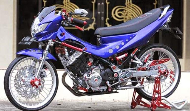 Modifikasi Suzuki Satria FU