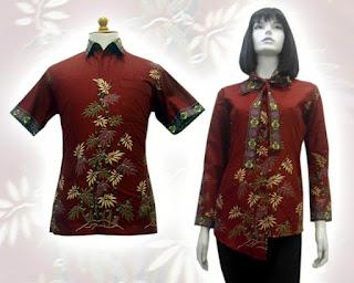 gambar blus batik terbaru