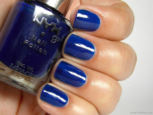 NYX Girls Nail Polish in Ink Heart