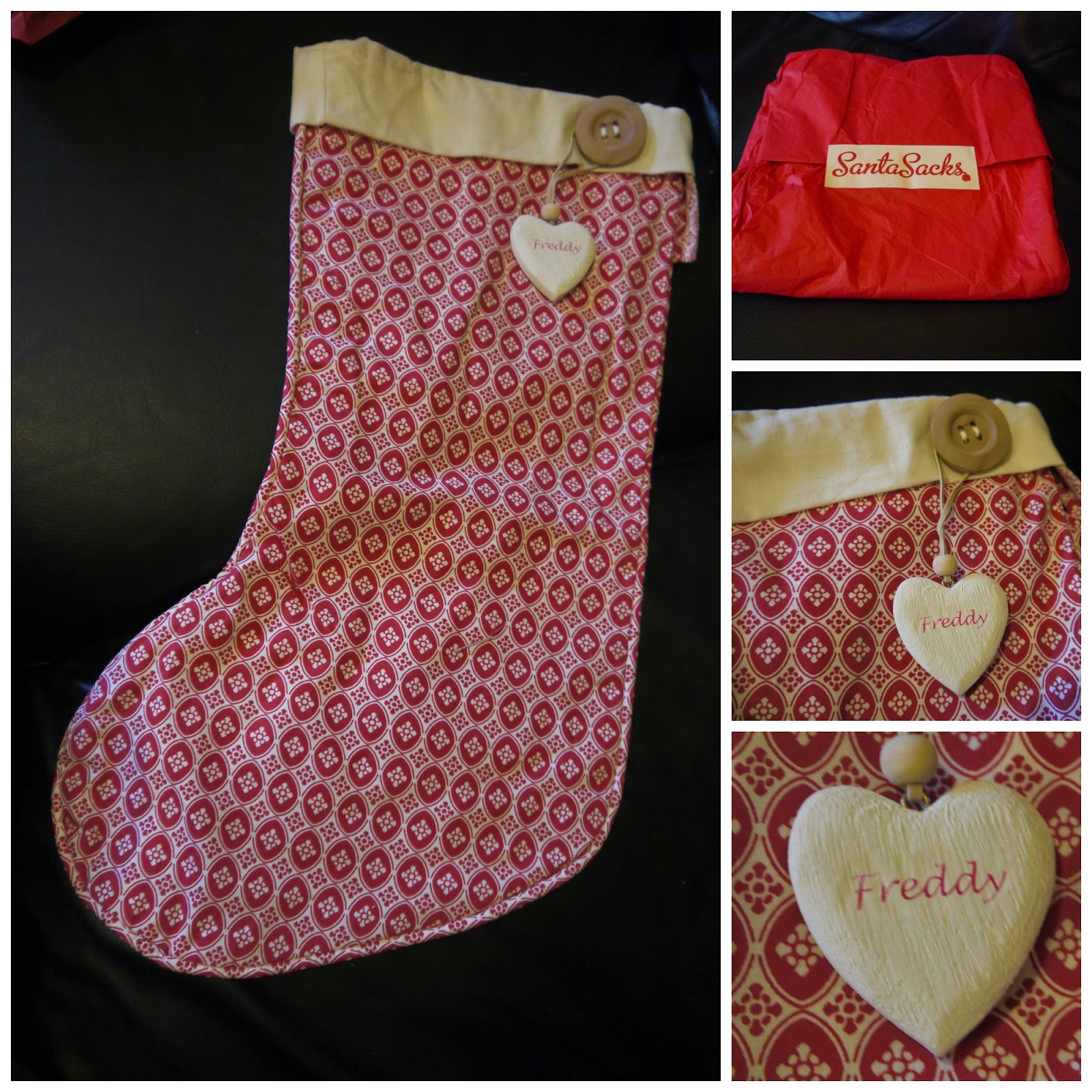 handmade Christmas stocking
