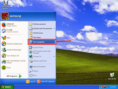 Learn how to hide files and folders in windowsXP step2