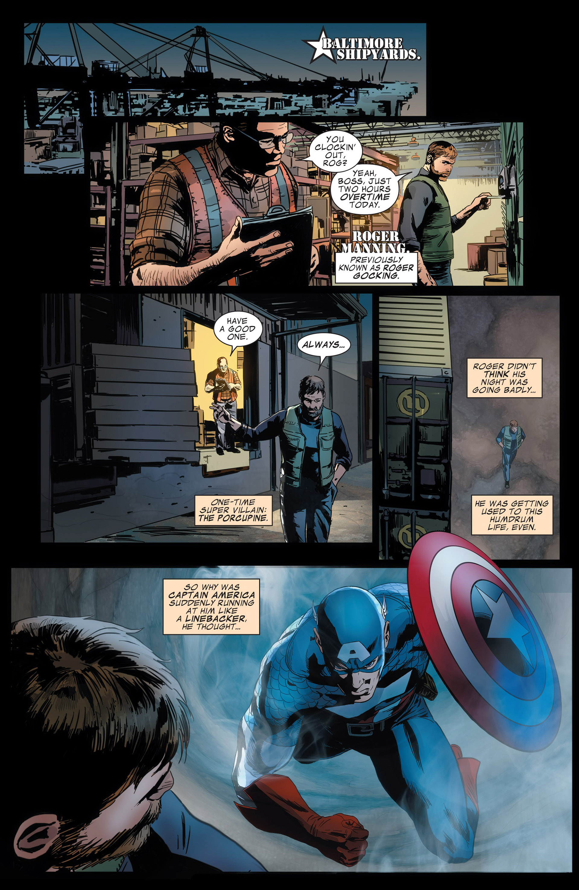 Captain America (2011) Issue #13 #13 - English 18
