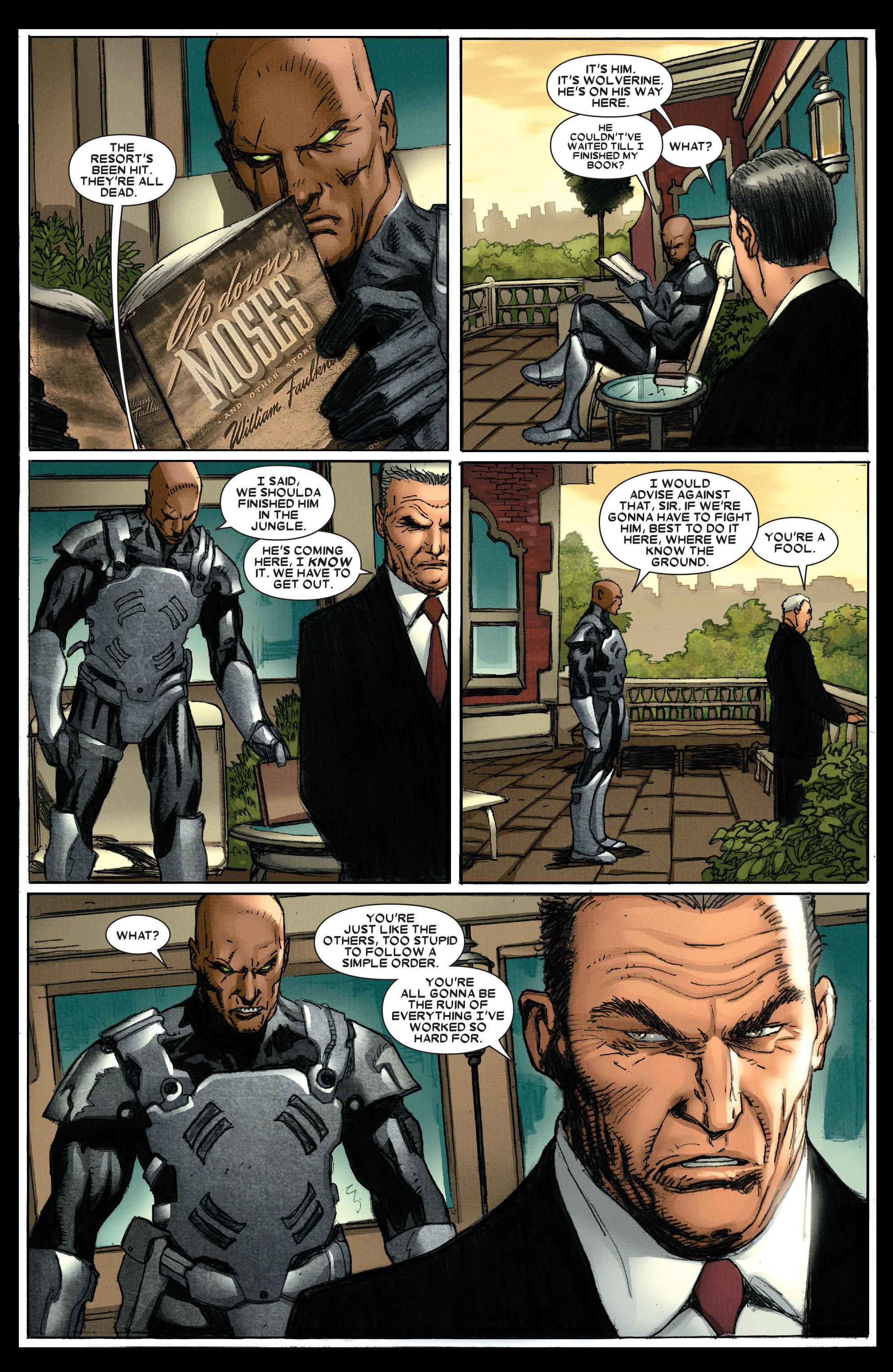 Wolverine: Weapon X #4 #13 - English 8