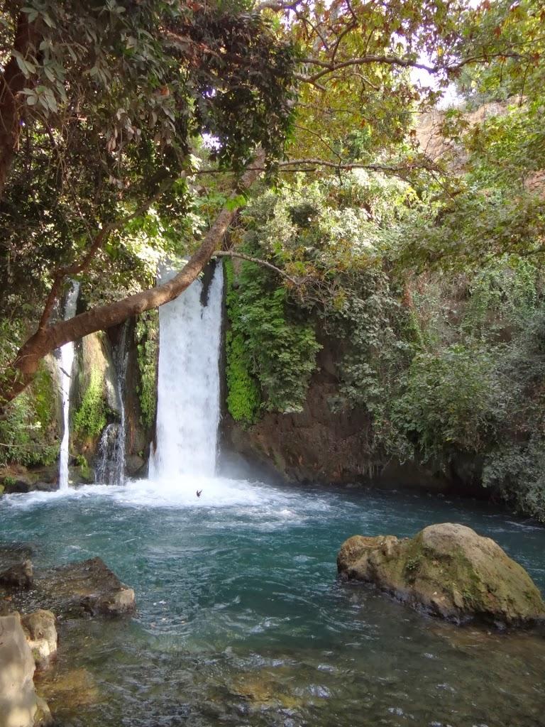 Wodospad Banias - Izrael