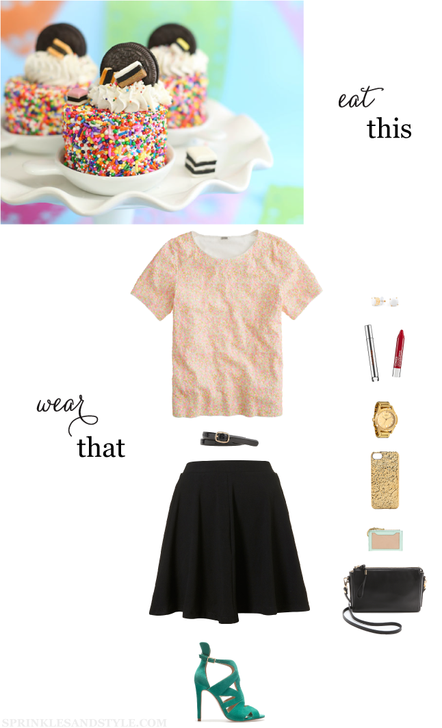 Eat This, Wear That: Sprinkles, Sequins, and Birthdays