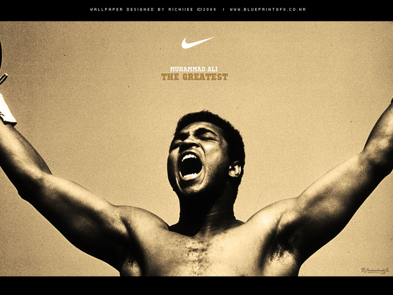 Muhammad Ali The Greatest By Richiiee