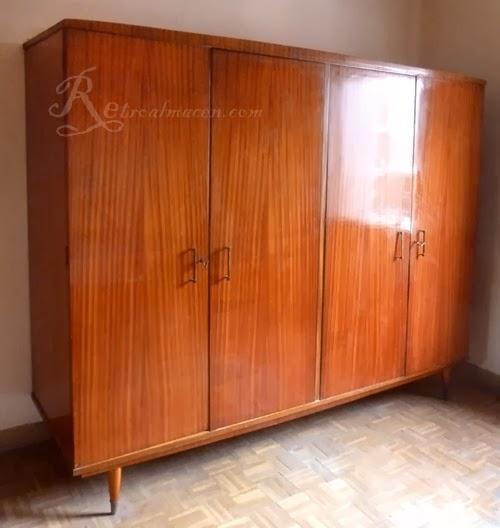 Retroalmacen antig edades vintage y decoraci n - Muebles anos 60 ...