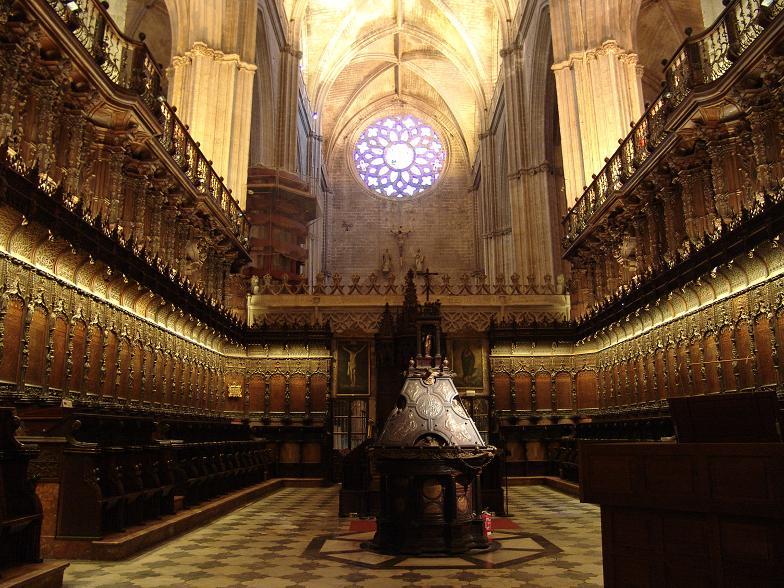 Vidrieras art sticas la uni n catedral de santa mar a de for Exterior catedral de sevilla