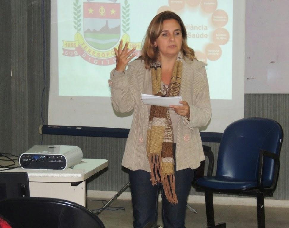 Adriana Chaves, diretora em Vigilância em Saúde: toda rede pública está envolvida com as ações integradas do plano