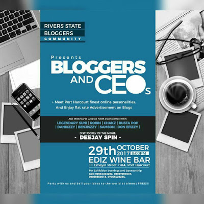 BLOGGERS AND CEOS PARTY