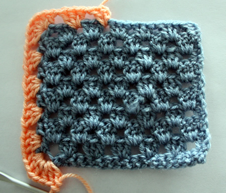 Granny stripe edging tutorial