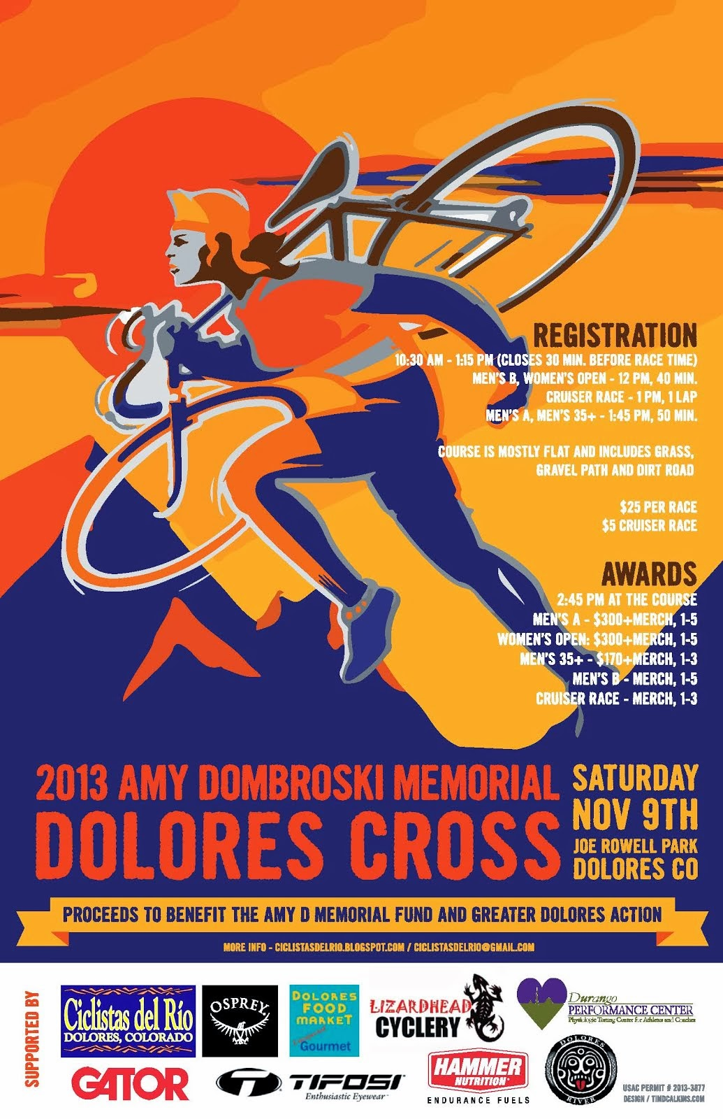 2013 Amy Dombroski Memorial Dolores Cross