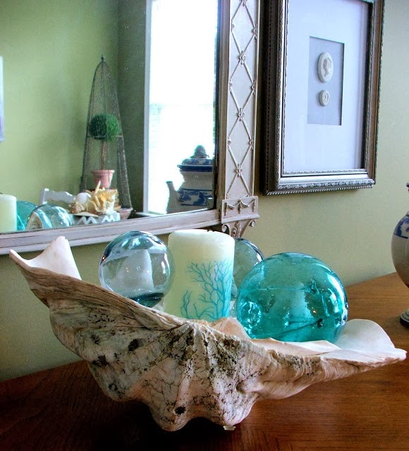 Holiday Decor Gift Ideas Pottery Barn Edition All My: Everything Coastal....: A Sea Shell Display For The