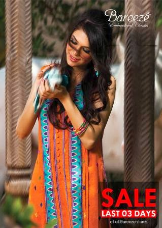 Embroidery Bareeze Women Collection