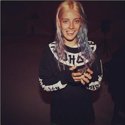 chloe norgaard, serge denimes, oliver proudlock, hoodie, sweater, pastel hair