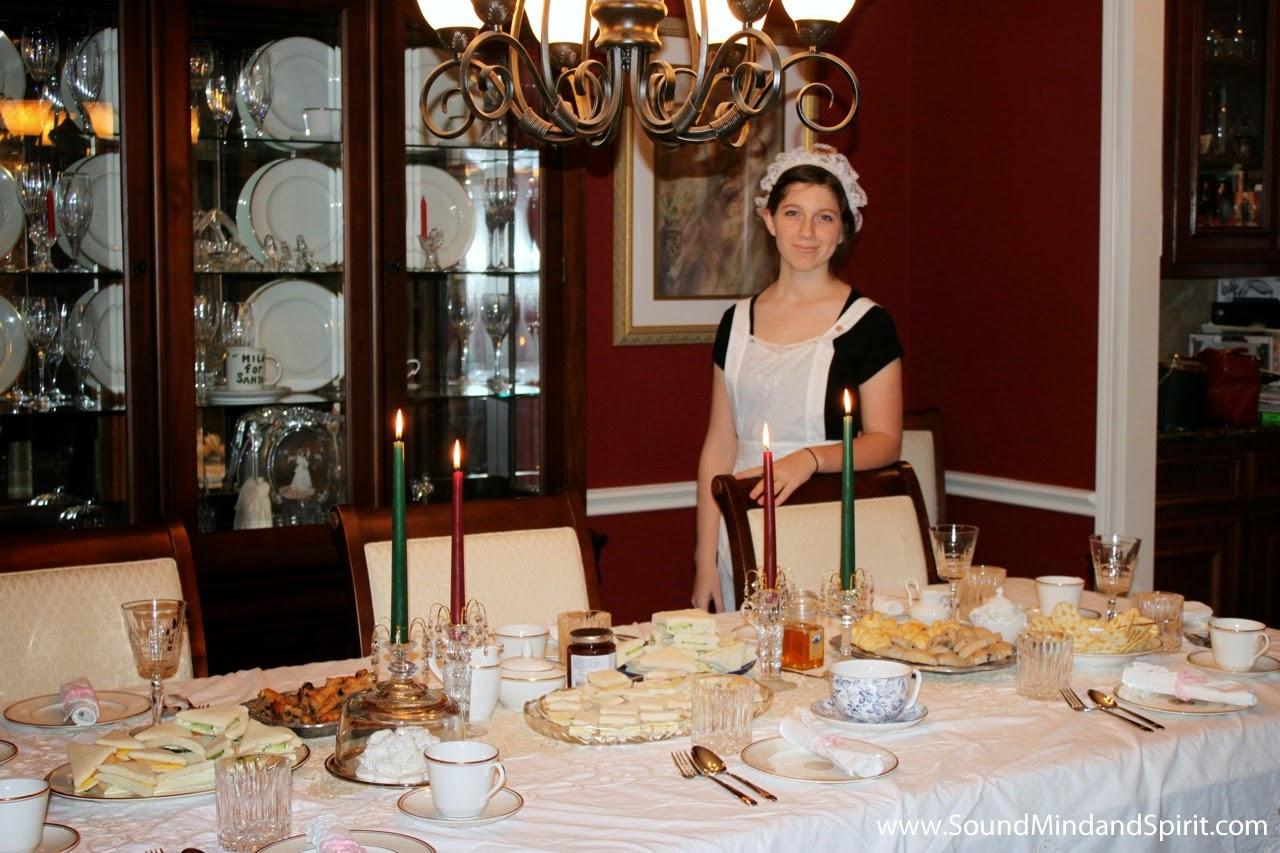 Downton Abbey Tea Party