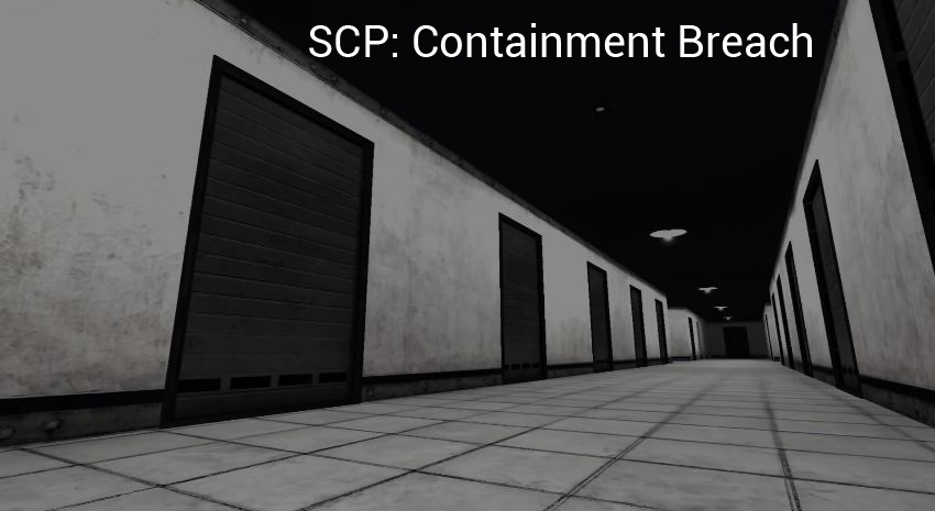 SCP: Containment Breach PC Windows