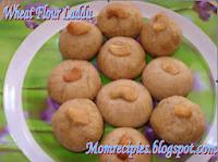 http://www.momrecipies.com/2008/08/wheat-flour-laddu.html