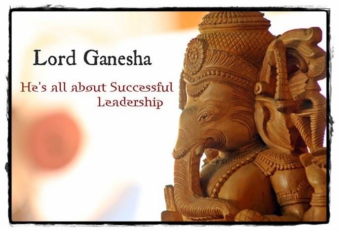 Lord Ganesha, Yoga Teacher, Successful Leadership, Management Lessons, Indian Mythology, know Spirituality, Yoga to Know, Be a Leader,
