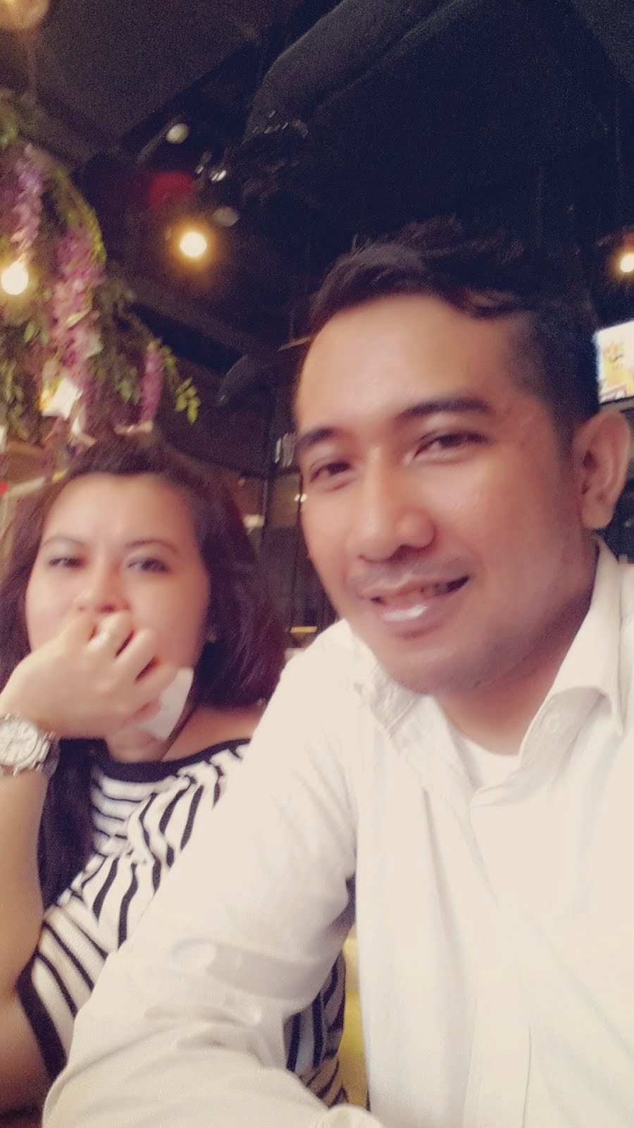 Me and my luvly wife