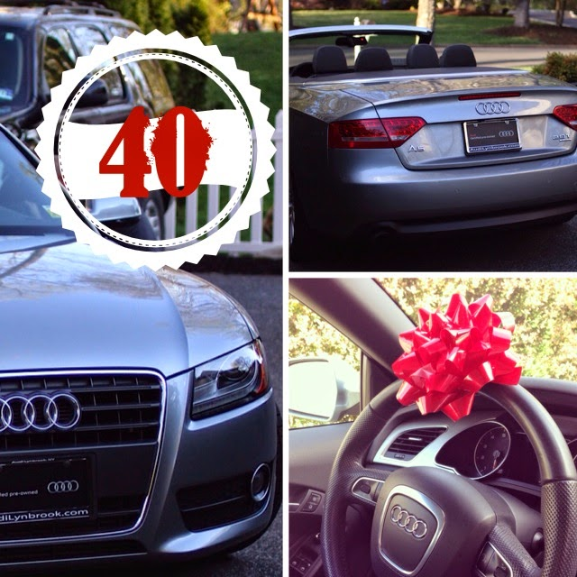 audi a5 convertible 40th birthday-www.goldenboysandme.com