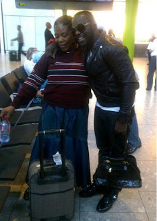 Jim Iyke Shows off his Mother .