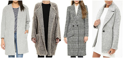 Three of these gray boucle coats are from designers for to $545 to $2,750 and one is from Forever 21 for $48. Can you guess which one is the more affordable (and most popular) coat? Click the links below to see if you are correct!